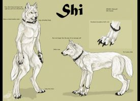 Shiwolf-refsheet by Yellow-eyes