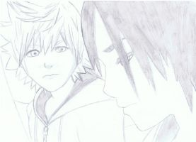 roxas and xion by kairi-tenchii
