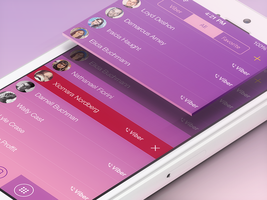 Viber iOS 7 Concept by Ramotion