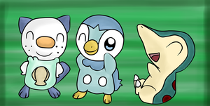 Day 03: Favorite starter Pokemon by tinttiyo