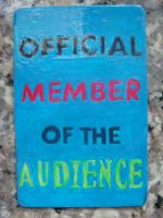 OFFICIAL AUDIENCE Magnet by RidiculousRandomHero