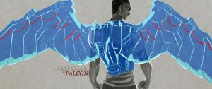 The Falcon by Silent-Feather