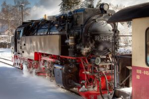 steam locomotive - HDR by melmarc