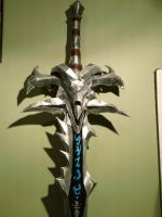 Frostmourne (New Paint) by TheDragonSensi