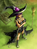 Wicked Witch of the West by yezzzsir