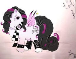 Emo pony by Liane13