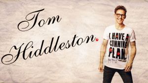 Red Nose Day- Tom Hiddleston Wallpaper by Mephonix