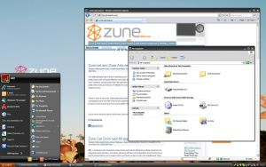 Zune for vista by themes4u