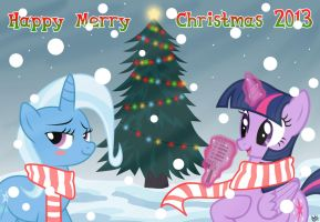 Happy Merry Christmas 2013 by benkomilk