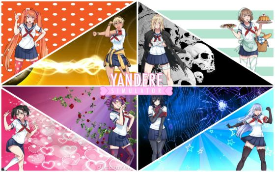 Yandere Simulator Rivals Wallpaper by ArtsyGamerGurl