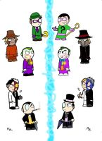 Li'l Rogues 6- Universe two by Phantasim-Fan