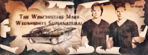 The Winchesters Make Wednesdays Supernatural by Nadin7Angel