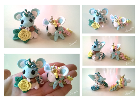 [CLOSED] Polymer Clay Unicorns by Sarilain