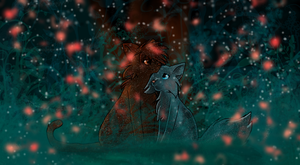 NewLeaf in Starclan Bluestar X Oakheart by Flashpelt1