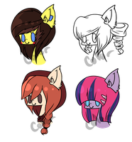 Mlp adopts 1 PONY LEFT by Nightmares-Adopts