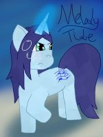 My Little Pony art request: Melody Tide by Keltain