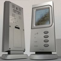 Thermometer-clock by DennisH2010