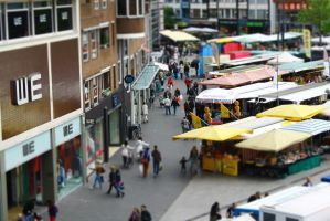 Tiltshift - Enschede Market by Mithcair