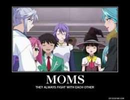 Rosario vampire motivational 10 by Allosaurus-rex123
