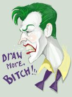 Angry J colored by MadHatters-Wife