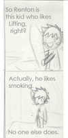 The Smoking Allegory by Shaon