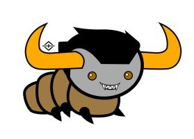 Homestuck Grub Project - Tavros by TheFandomEdson