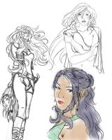 Mysterious Rebryn Sketches by Mysterious573