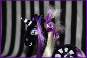 Tim Burton- pony 2 close up by Countess-Grotesque