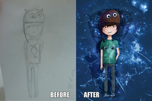 Before - After by givemiyourbrain