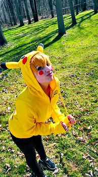 Pikachu chu by IDK-Cosplay