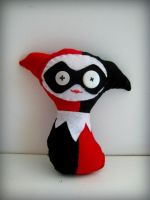 Harley Quinn Plush Doll by eleskimo