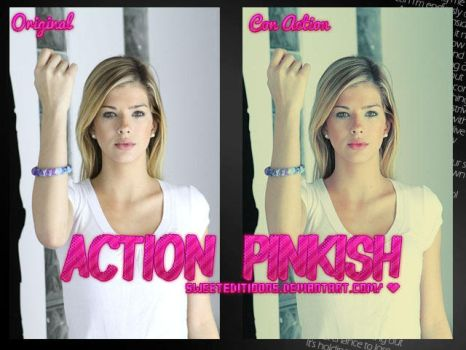 Action 'Pinkish' by SweetEditioons