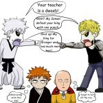 Bleach and Onepunch-Man 2 by greensky222