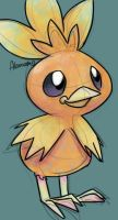 Torchic by skeletall