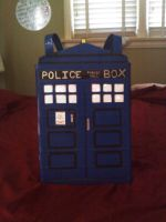 Tardis Purse by no-role-model