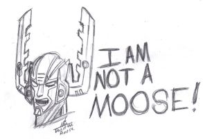 Day of the Moose Sketch 4: NOT A MOOSE! by ConstantM0tion