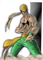 Iron Fist 07 Color Edition by blaquejag