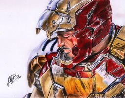 Iron Man 3 by AndresBellorin-ART