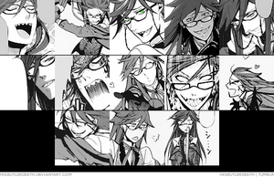 Grell Sutcliff icons 1 by hisbutlerdeath