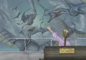 Do not feed the dragons by Ramul