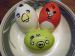 Angry Birds by reddishrocker