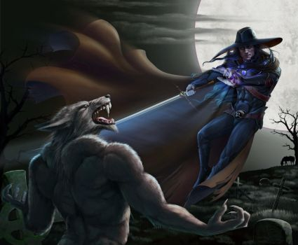 Vampire hunter D. Ver 2 by Feael