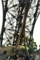 Eifel Tower close up by BrownWolfFM