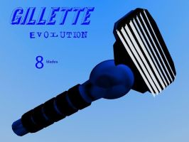 Gillette Evolution 8 by SpartaN-PhoeniX