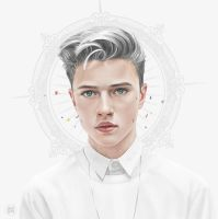 Lucky Blue Smith - God Aura by lunzh