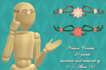 MMD Nature Circlets ~20 point DL~ by 0-0-Alice-0-0