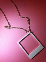 Polaroid Necklace by CMDCustom