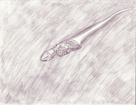 Scout 29 Sketch in Flight by Scout29