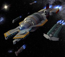 Leaving The Cradle: Aliance Expeditionary Fleet by darth-biomech
