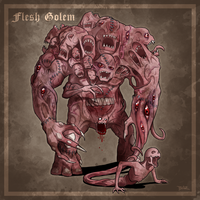 Anima: Flesh Golem by Blazbaros